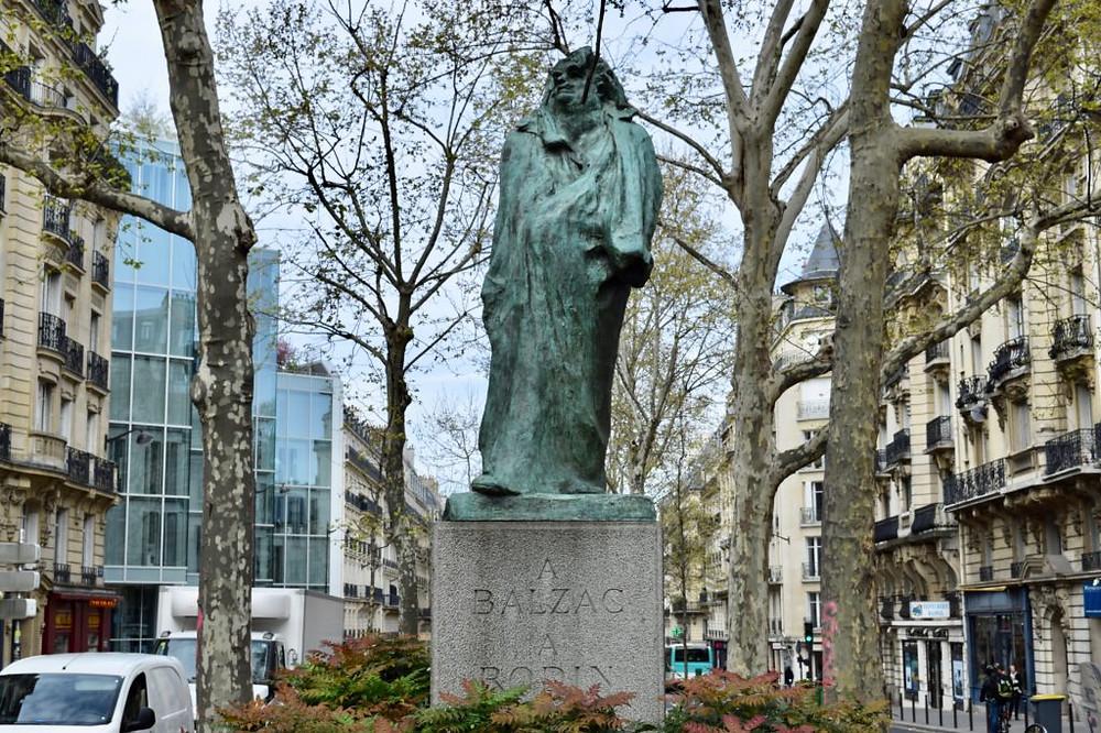 another Balzac on the Boulevard Raspail