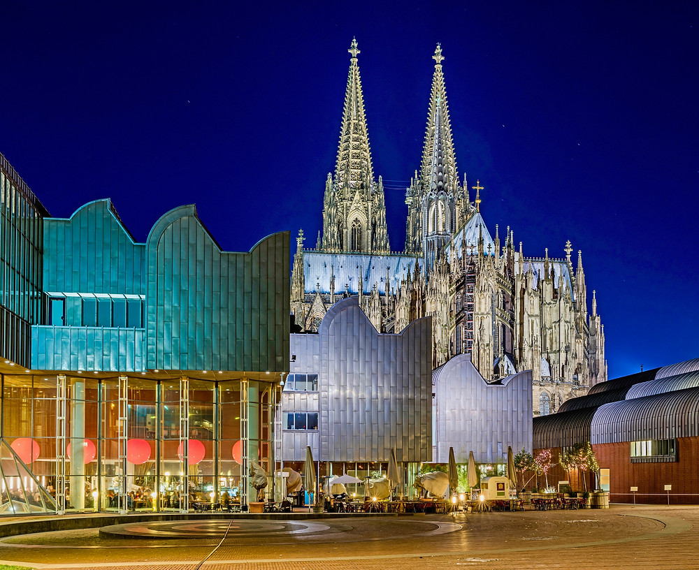 the Ludwig Museum next to Cologne Cathedral