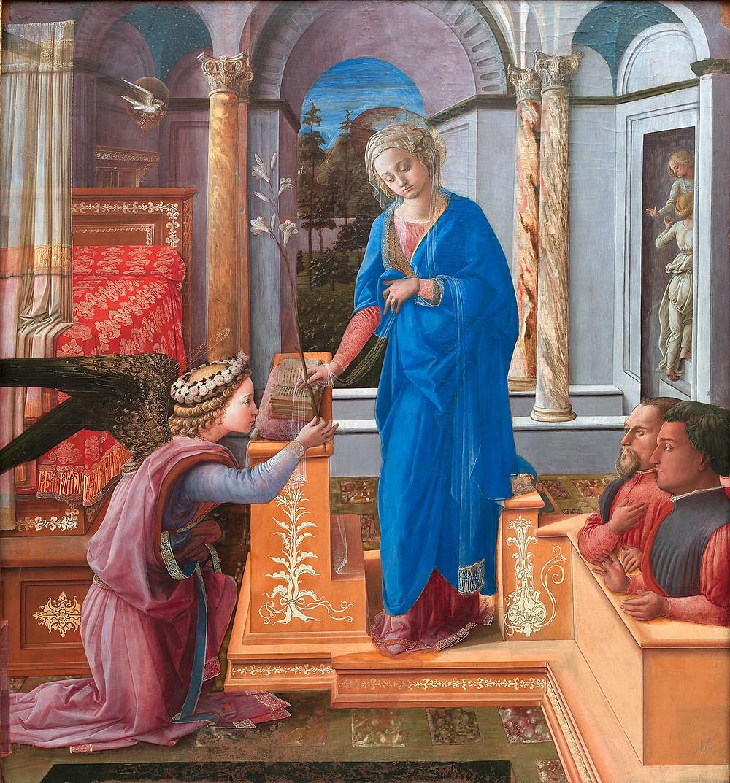 Filippo Lippi, Annunciation, 1435
