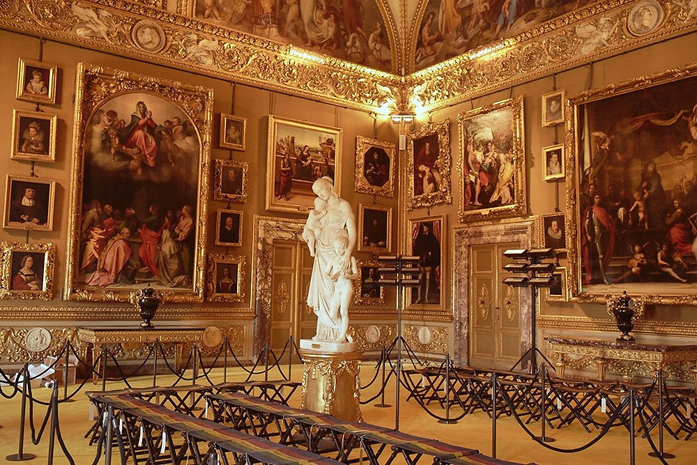 Modern Art Gallery in the Pitti Palace