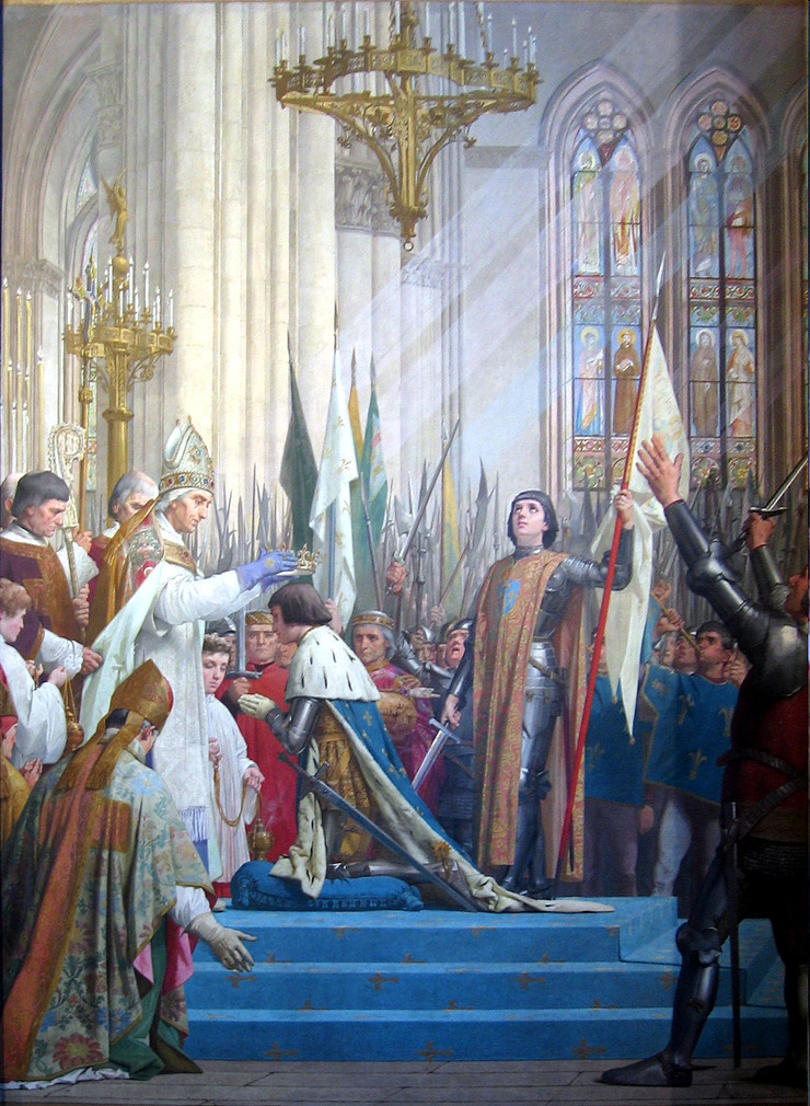 Jules Eugene Lenepveu, Joan of Arc at Reims for the Coronation of Charles VII, 1886-90