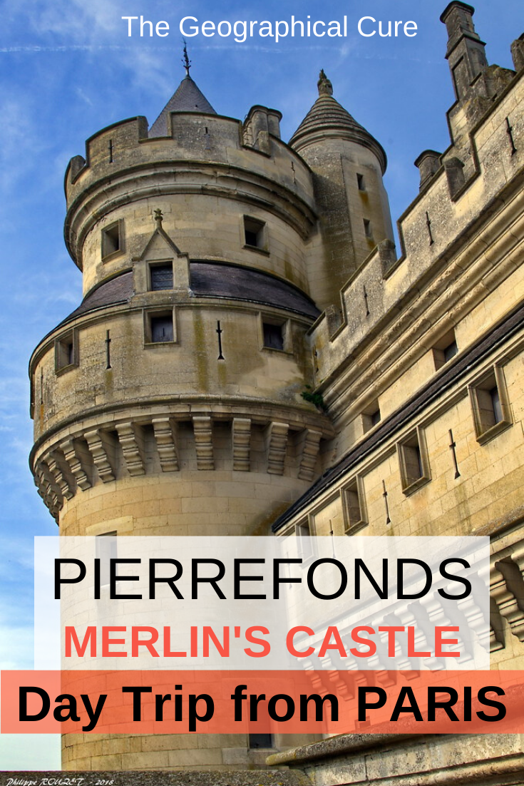 Pierrefonds Castle, Star of Merlin and an unmissable day trip from Paris