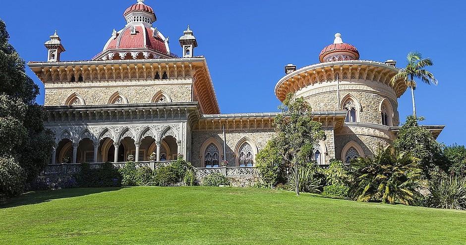 Montserrat Palace outside Sintra