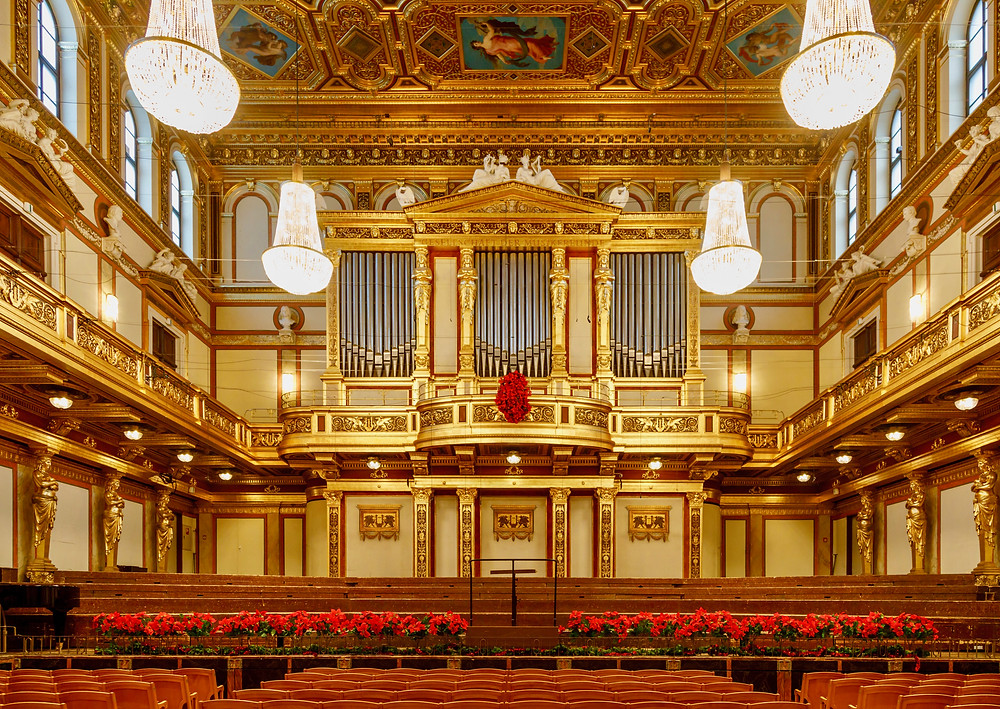 "The ""Golden Hall"" of the Musical Association Vienna"
