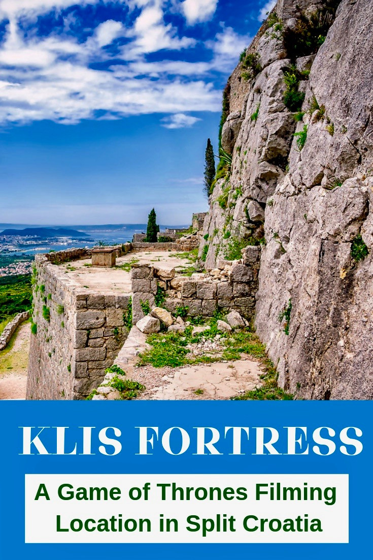 Kliss Fortress outside Split Croatia, a Game of Thrones Filming Location