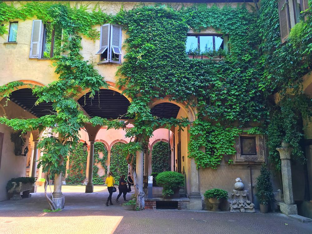 Leonardo's Vineyard, across from The Last Supper