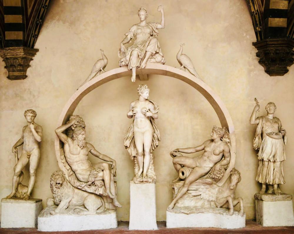 Batolomeo Ammannati, Fountain for the Sala Grande,        1556