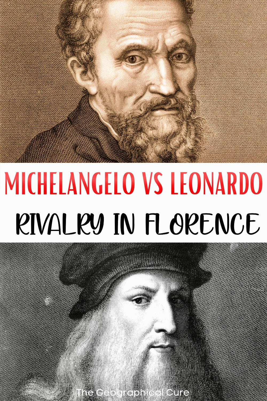 the artistic showdown between Leonardo and Michelangelo at the Palazzo Vecchio
