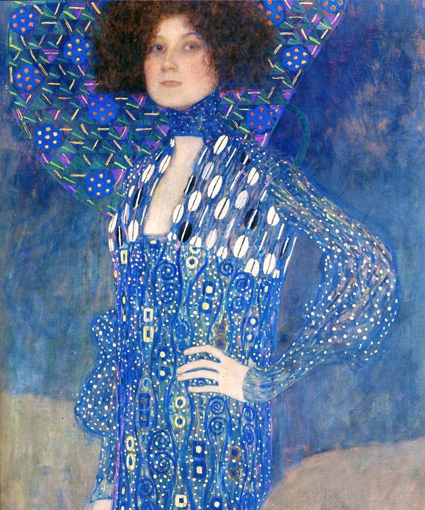 Gustav Klimt, Emile Floge, 1902 -- Klimt had a 25 year relationship with Floge