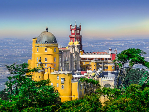 The Madcap Romantic Pena Palace in Sintra Portugal