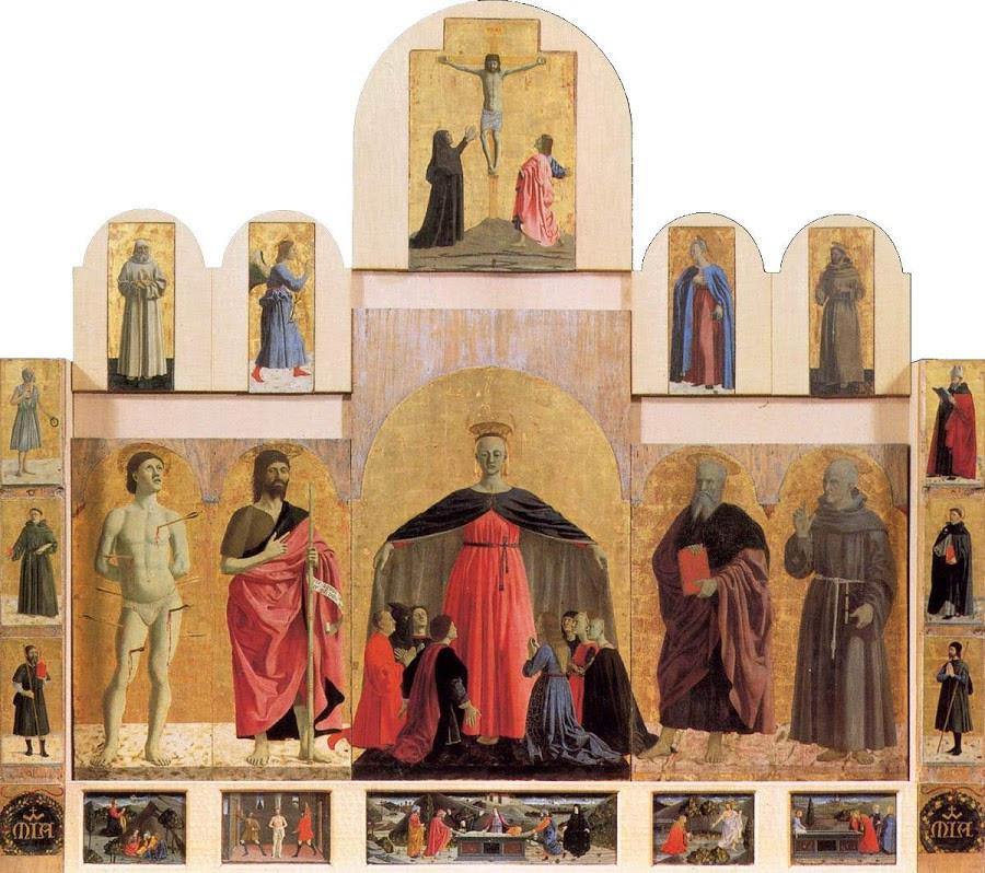 Piero della Francesco, Madonna della Misericordia, 1462