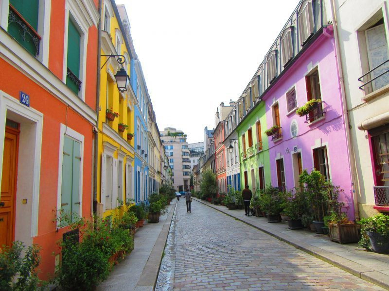 Rue Cremieux, a charming street in the ever charming Paris