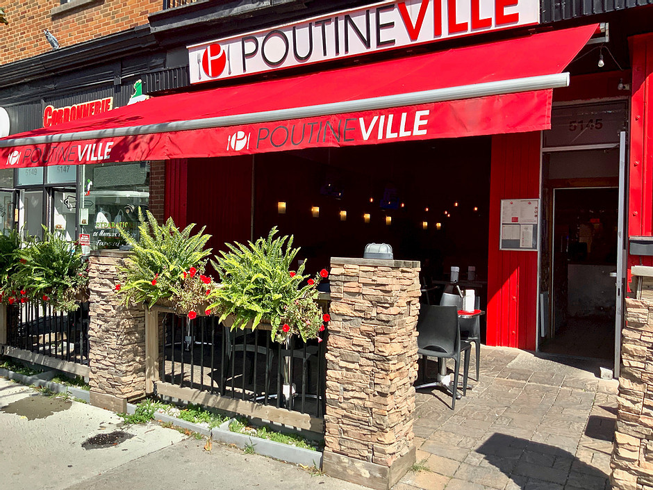 Poutineville in Miles End
