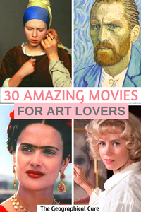 30 amazing movies for art lovers