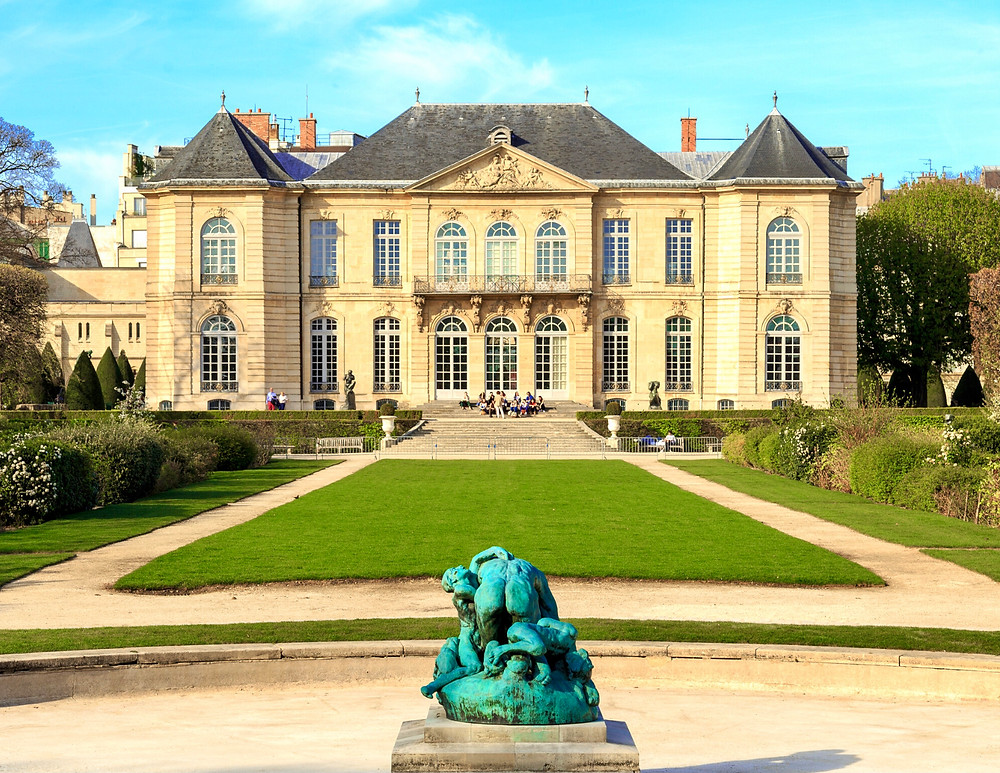 the stunning Hotel Biron, which houses the Rodin Museum