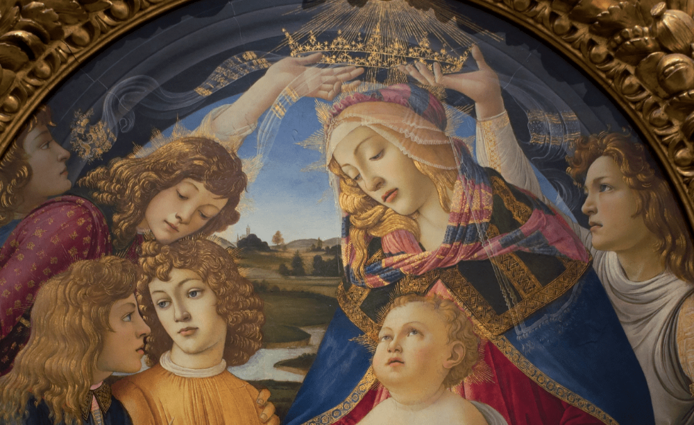 Botticelli, Madonna of the Magnificat, circa 1483