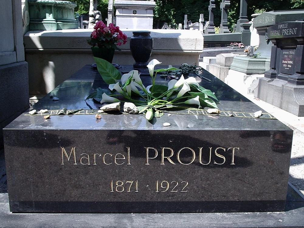 Marcel Proust's grave