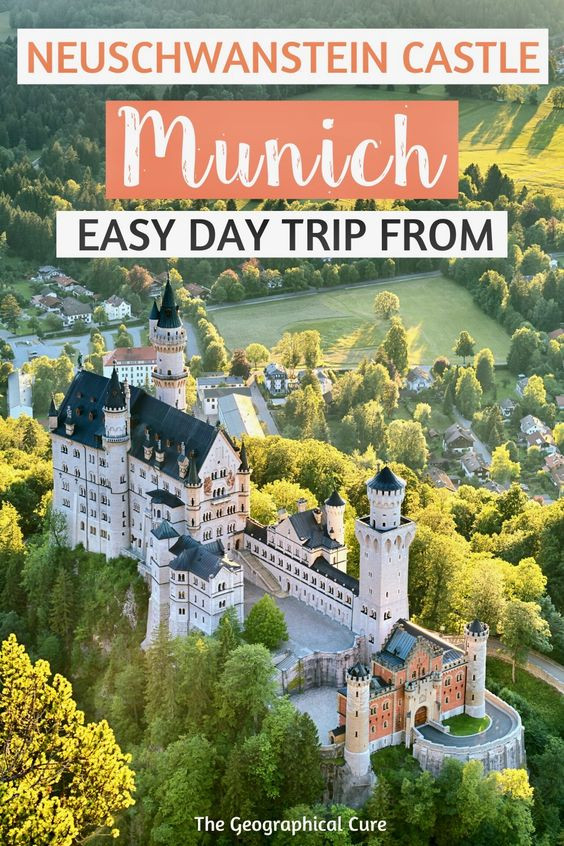 ultimate guide to Neuschwanstein Castle, the perfect day trip from Munich Germany