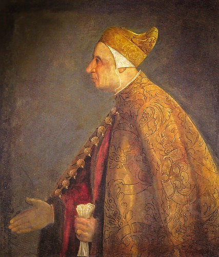 Titian, Portrait of the Doge Niccolo Marcello, 1542