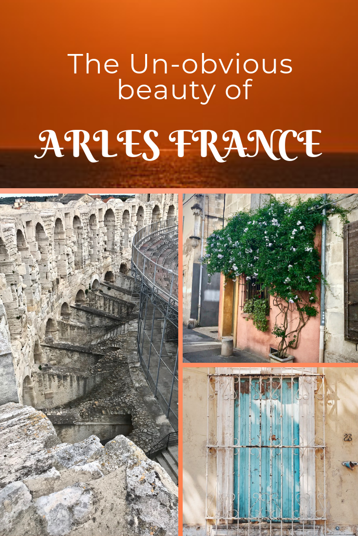 The Town of Arles in Provence