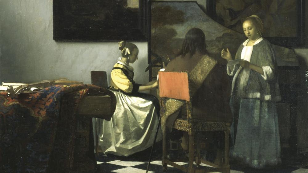 Vermeer's The Concert, stolen from the Dutch Room
