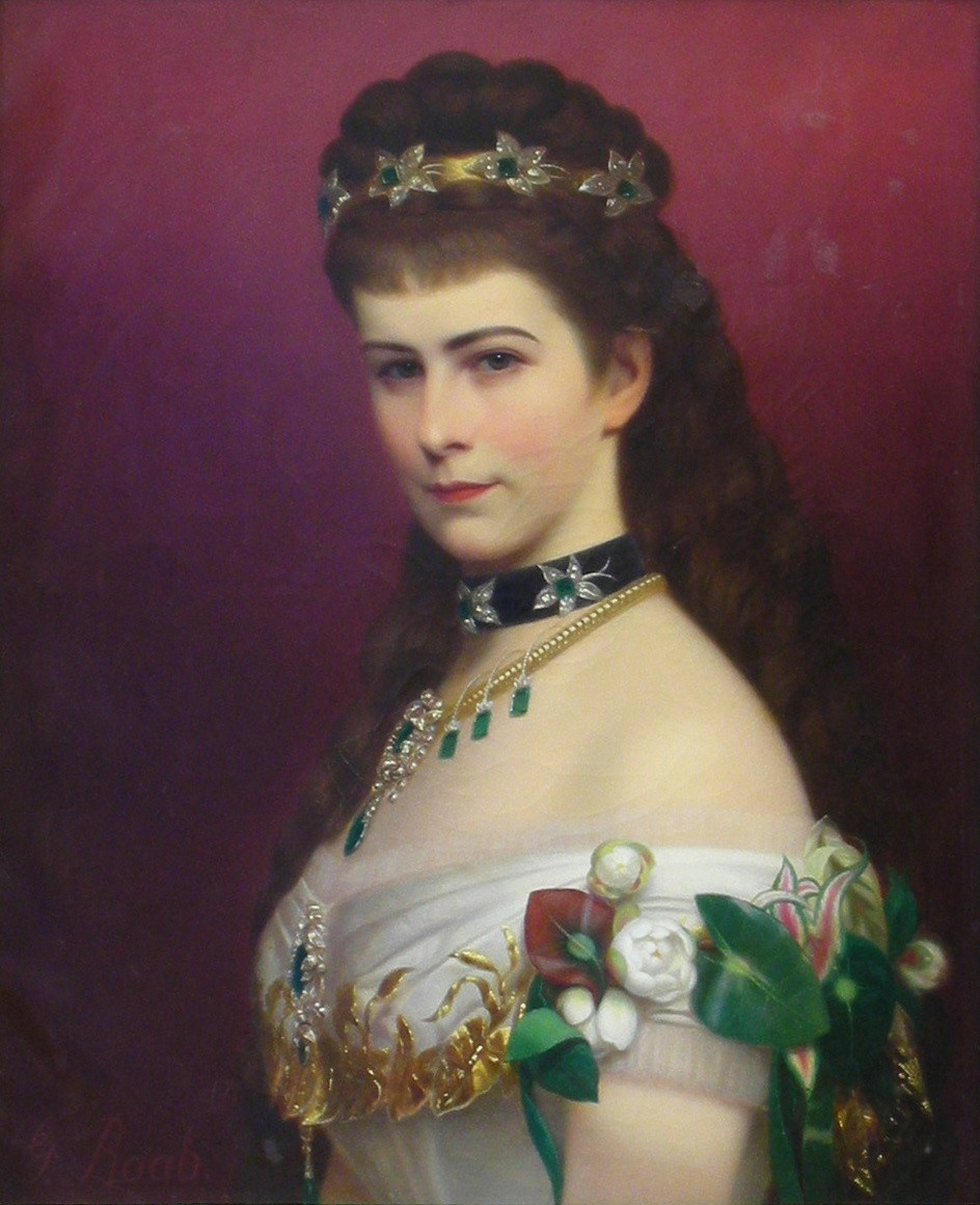 George Raab, Portrait of Empress Elisabeth