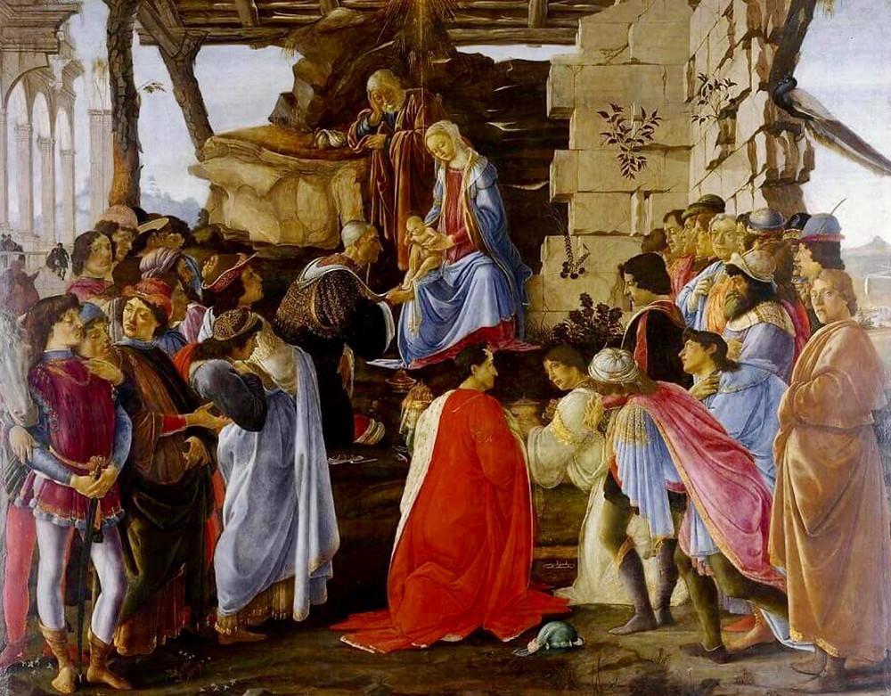 Botticelli, Adoration of the Magi, 1475