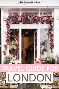 Travel Guide and Itinerary for London England