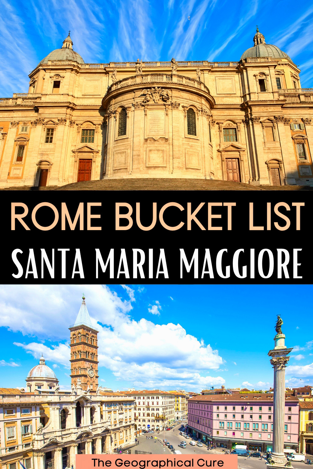 everything to see at the Basilica of Santa Maria Maggiore in Rome Italy