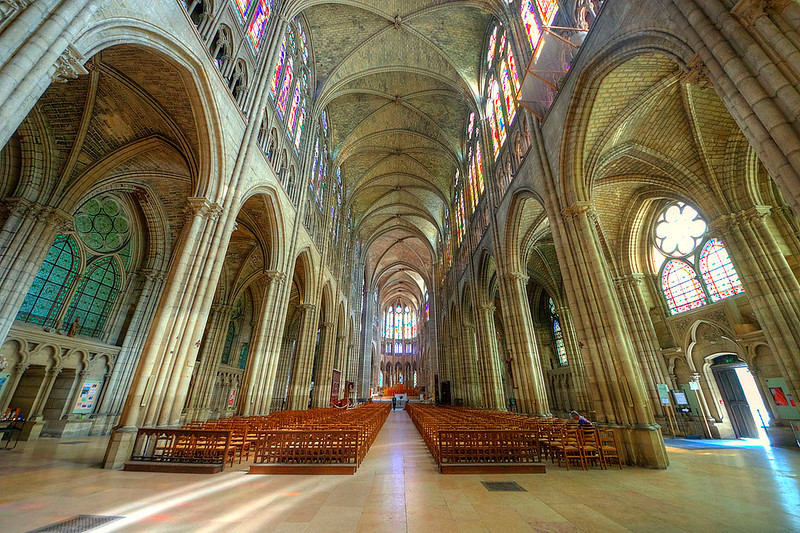 the renovated Saint Denis. image source: Claude Attard– flickr/creative commons license