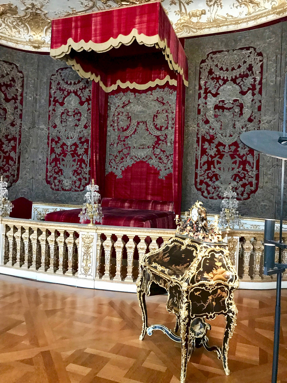 the royal bedroom -- for ceremonial purposes exclusively