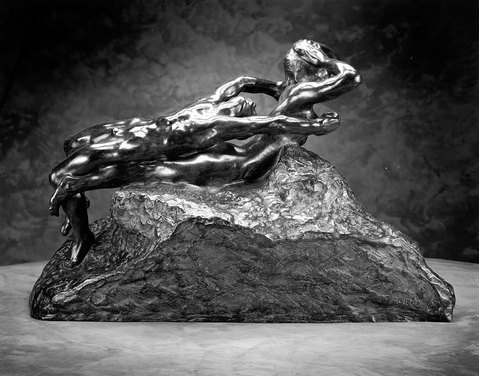 Auguste Rodin, Fugitive Love, 1887 -- men could make erotic sculptures but not women