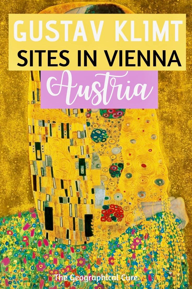 Gustav Klimt Sites in Vienna Austria
