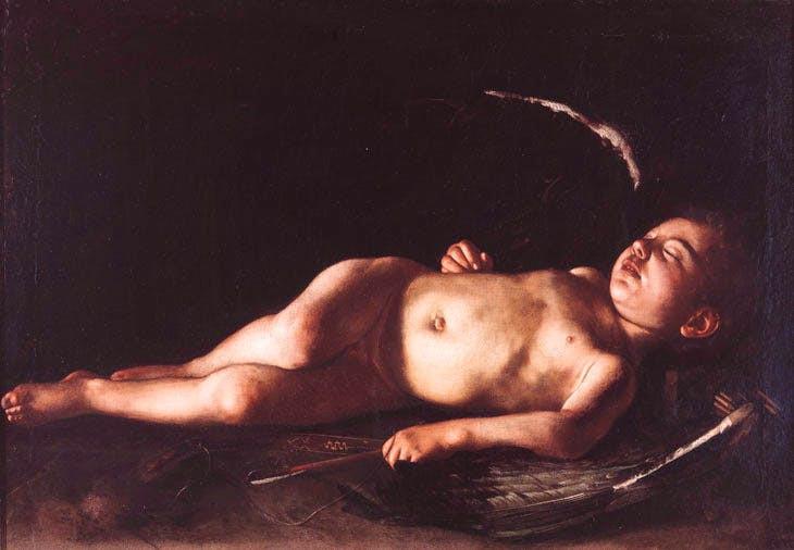 Caravaggio, Sleeping Cupid, 1608