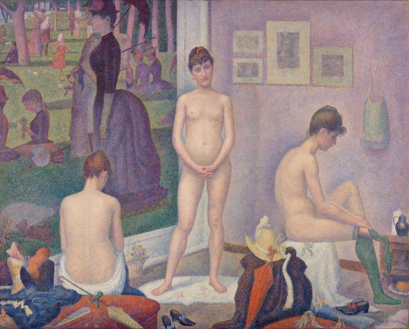 George Seurat, Models, 1886-88