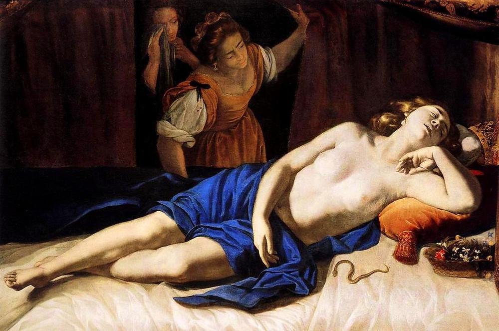 Artemisia Gentileschi, Cleopatra, 1633-35