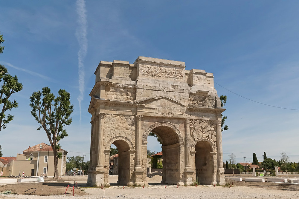 Triumphal Arch in Orange France