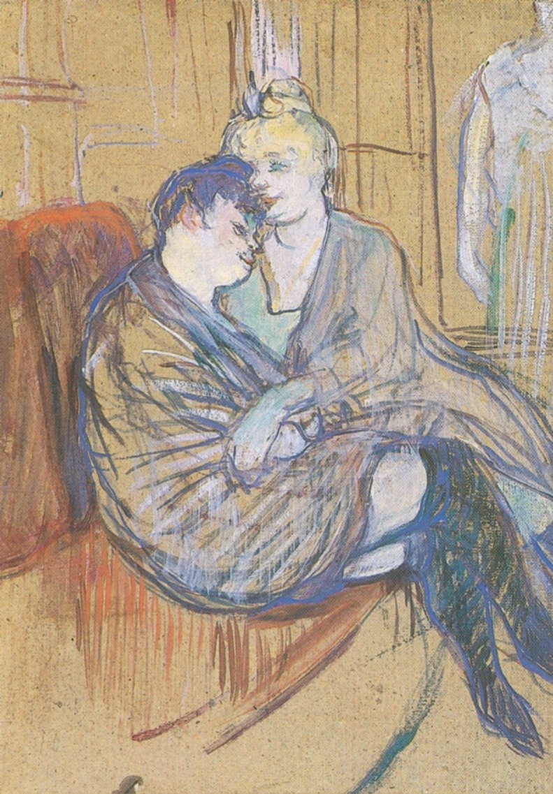 Toulouse-Lautrec, Two Friends, 1889
