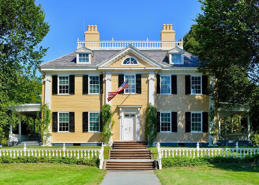Longfellow House in Cambridge MA