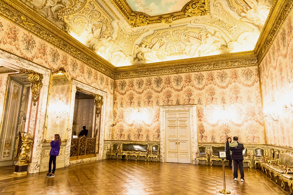 the Ballroom in the Doria Pamphilj