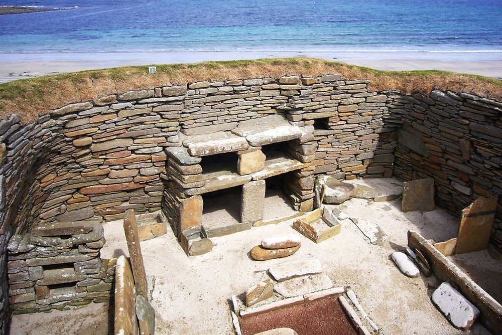 """good view of a Neolithic """"dresser"""""""