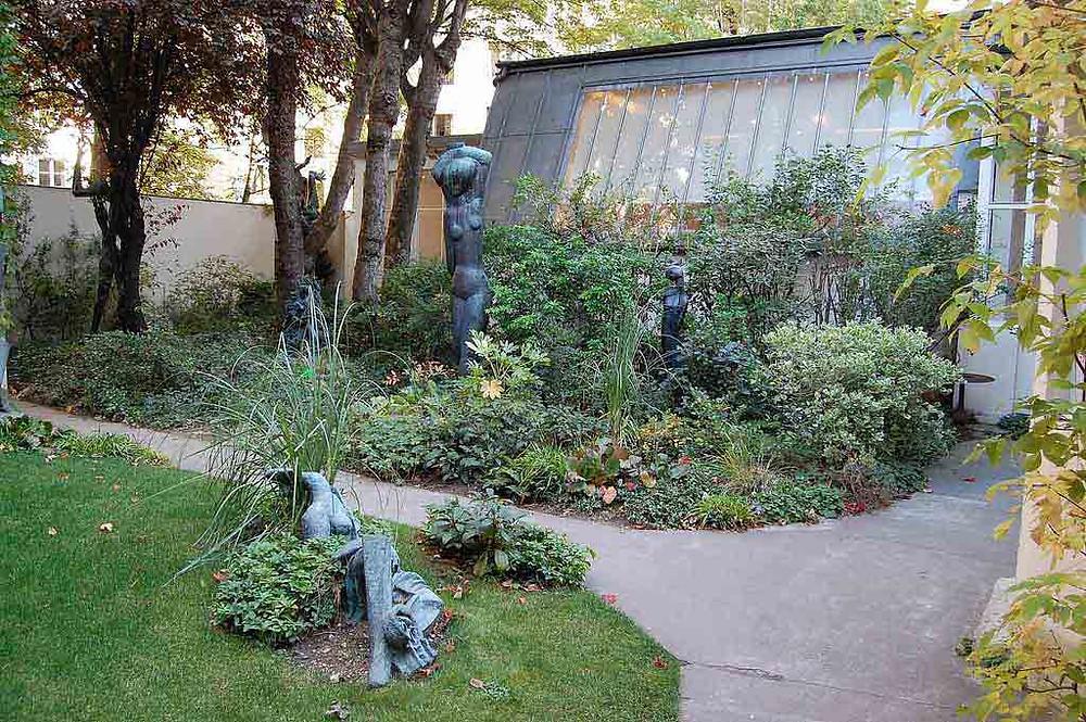Zadkine Museum and gardens in Montparnasse