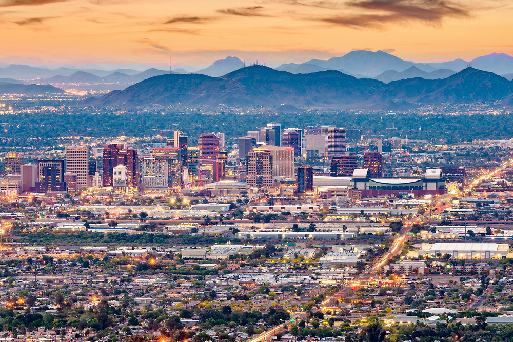 Phoenix cityscape