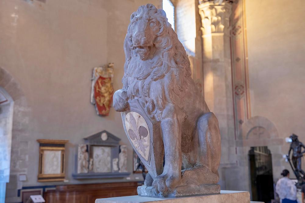 Donatello, Marzocco, 1416