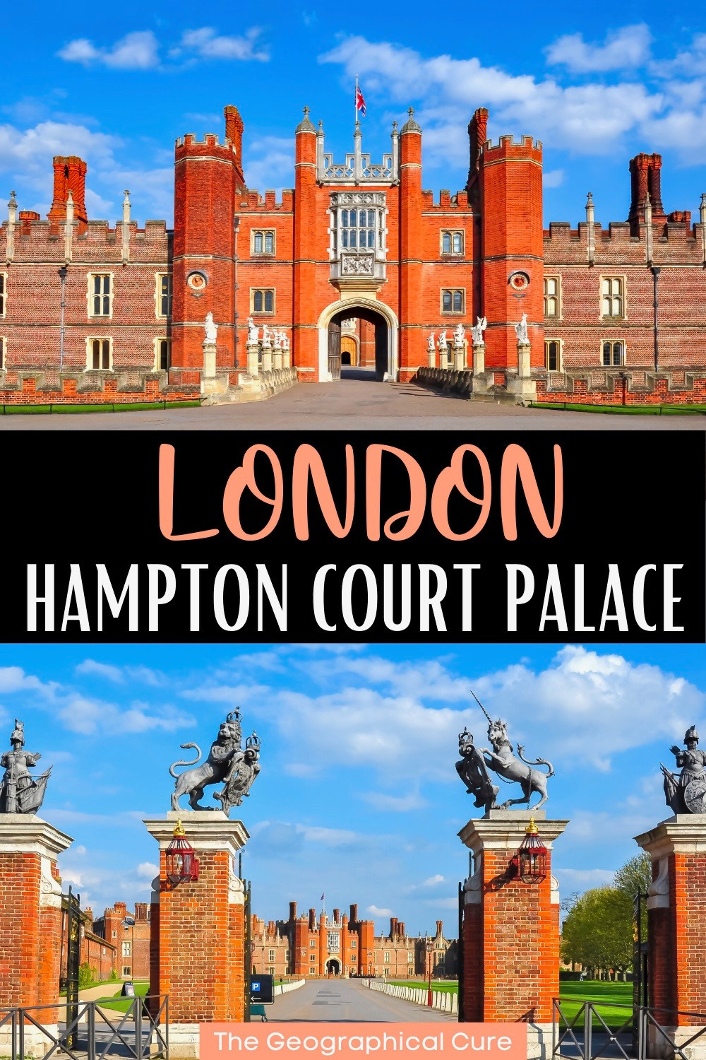 ultimate guide to Hampton Court Palace, a must see landmark in England