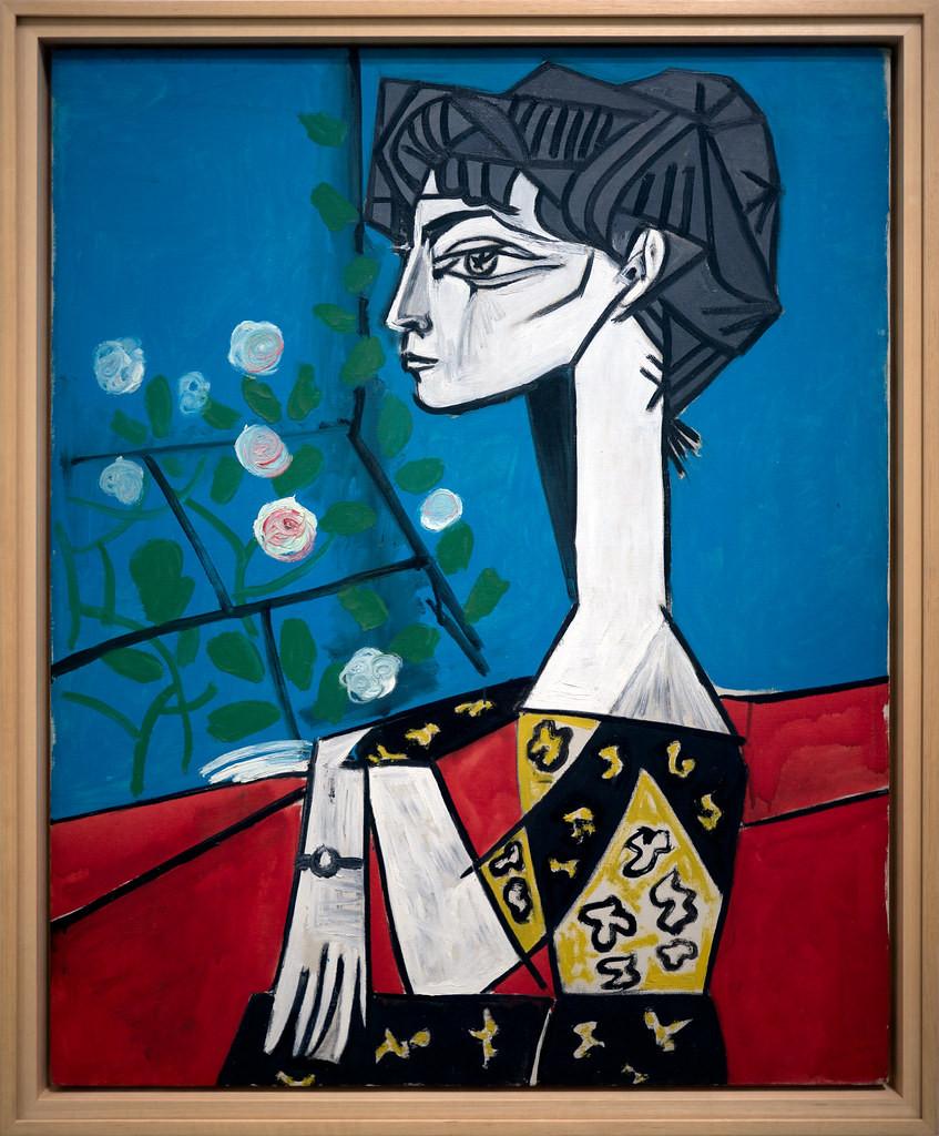 Pablo Picasso, Jacqueline Sitting in Profile, 1954