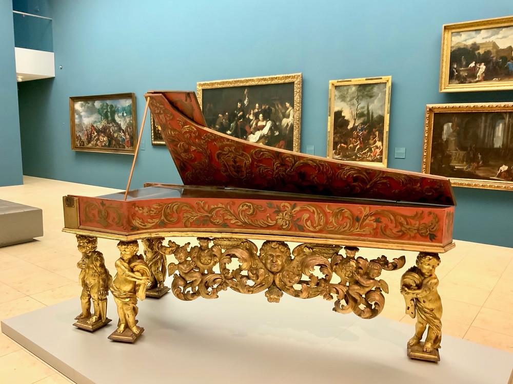 19th century harpsichord