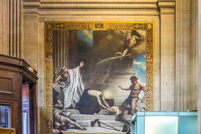 frescos in the Pantheon
