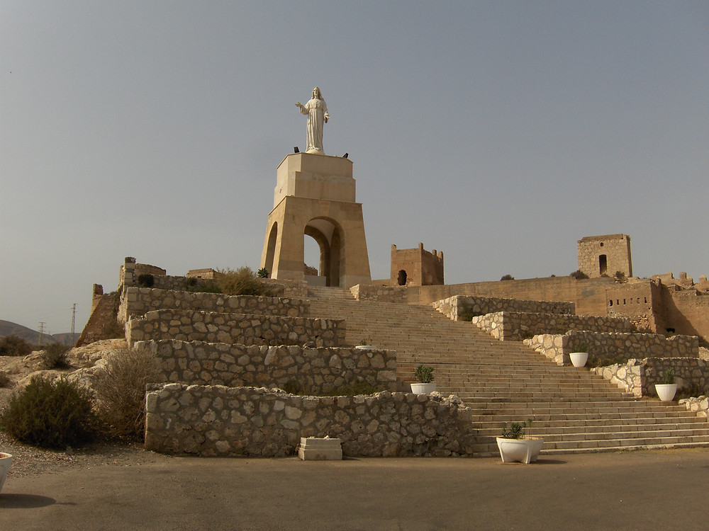 San Cristóbal Statue