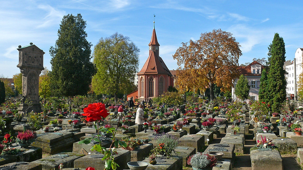 St. John's Cemetery, the site of Albrecht Durer's grave